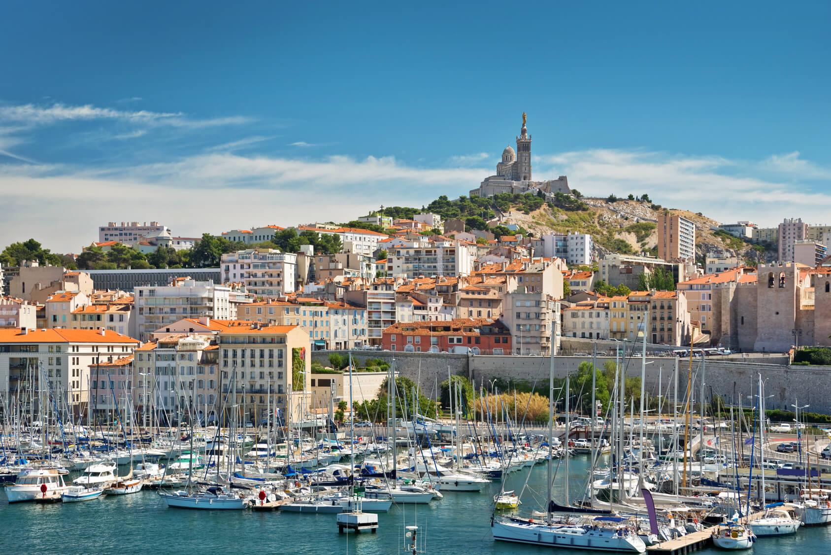 Location de voitures avec chauffeur privé à Marseille Aix-en-Provence
